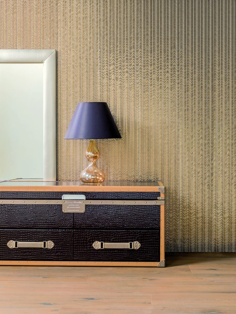 Revestimento dourado sydney para paredes porcelanosa