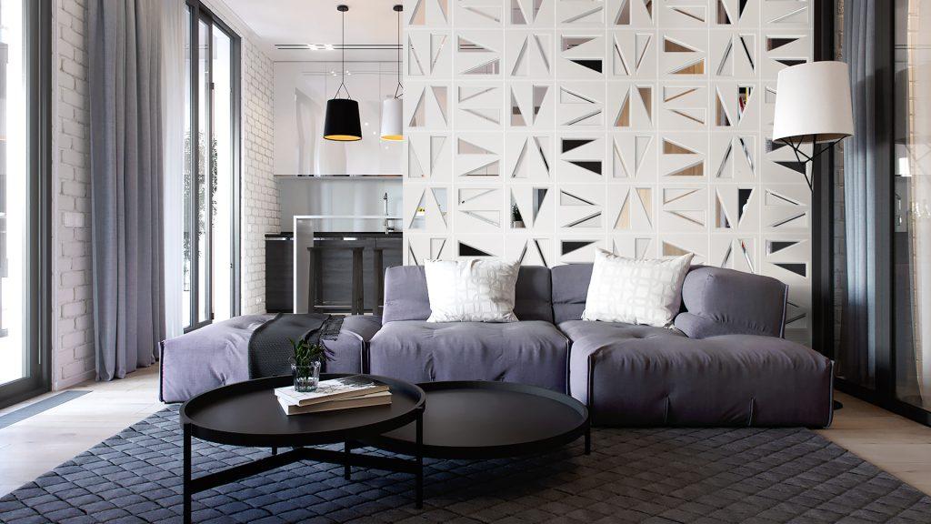 cobogo branco de cimento 3030 by Rosa Pinc