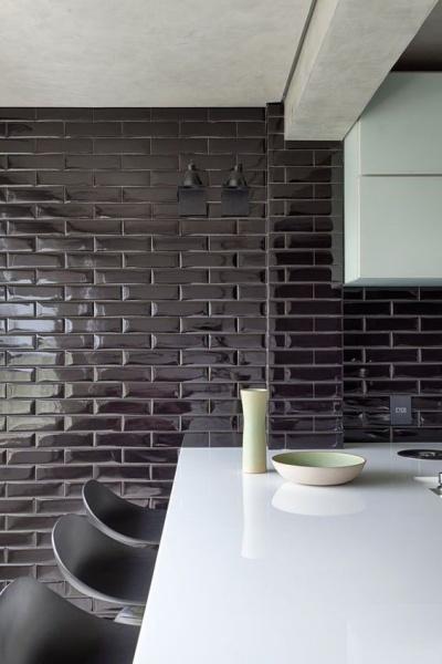 45 Inspiracoes Para Usar O Subway Tiles O Azulejo Do Metro Revestindo A Casa