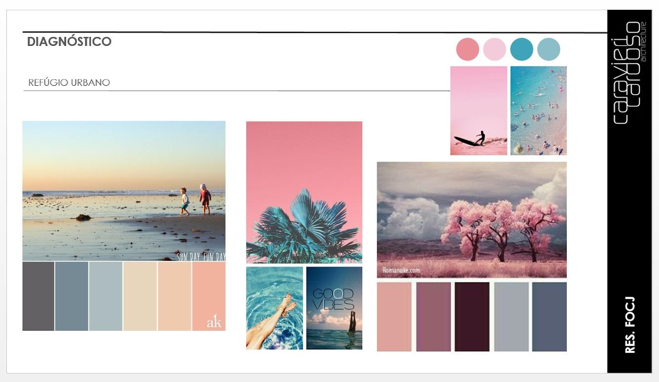 paleta de cores para conceito do do projeto