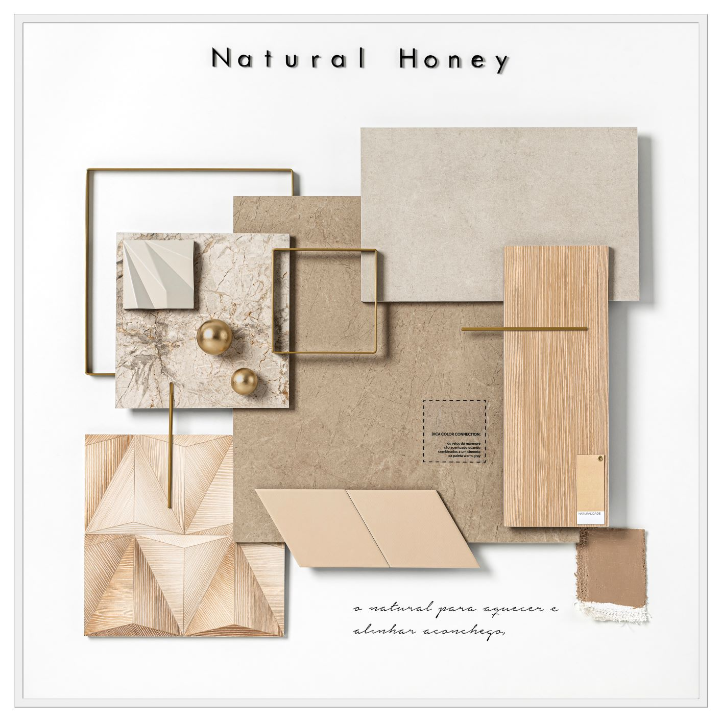 mood board Natural Honey