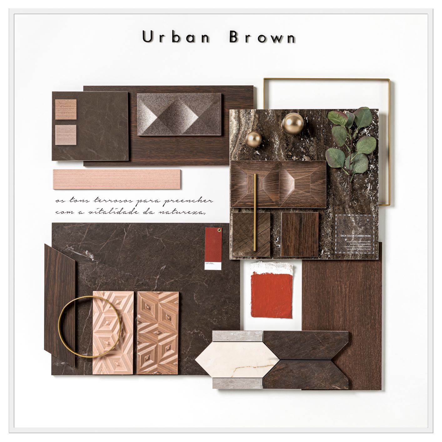 mood board Urban Brown