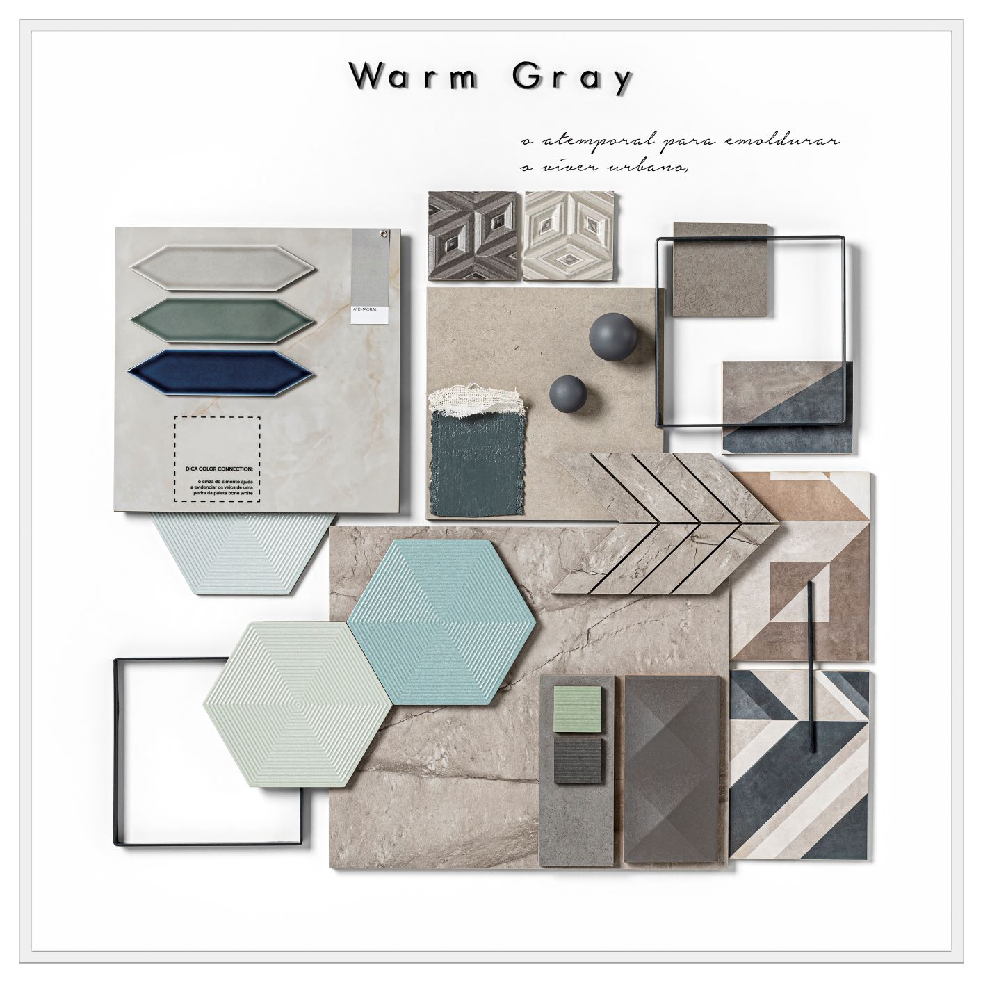 mood board Warm Gray