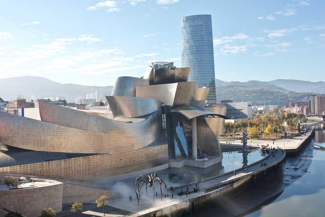 Museu Guggenheim, Bilbao, Espanha - Frank Gehry