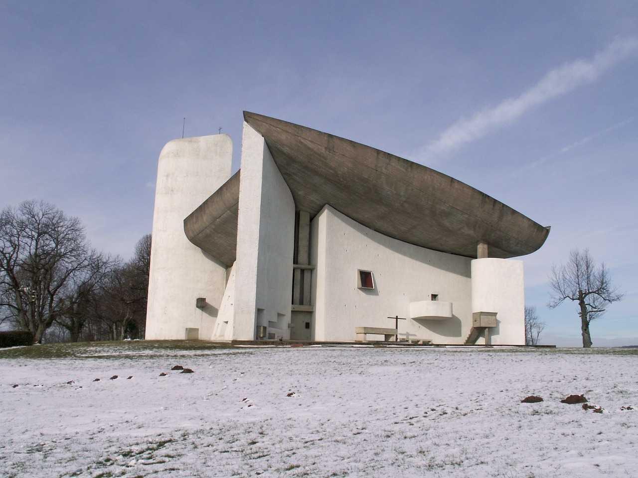 Capela Notre-Dame du Haut - Le Corbusier