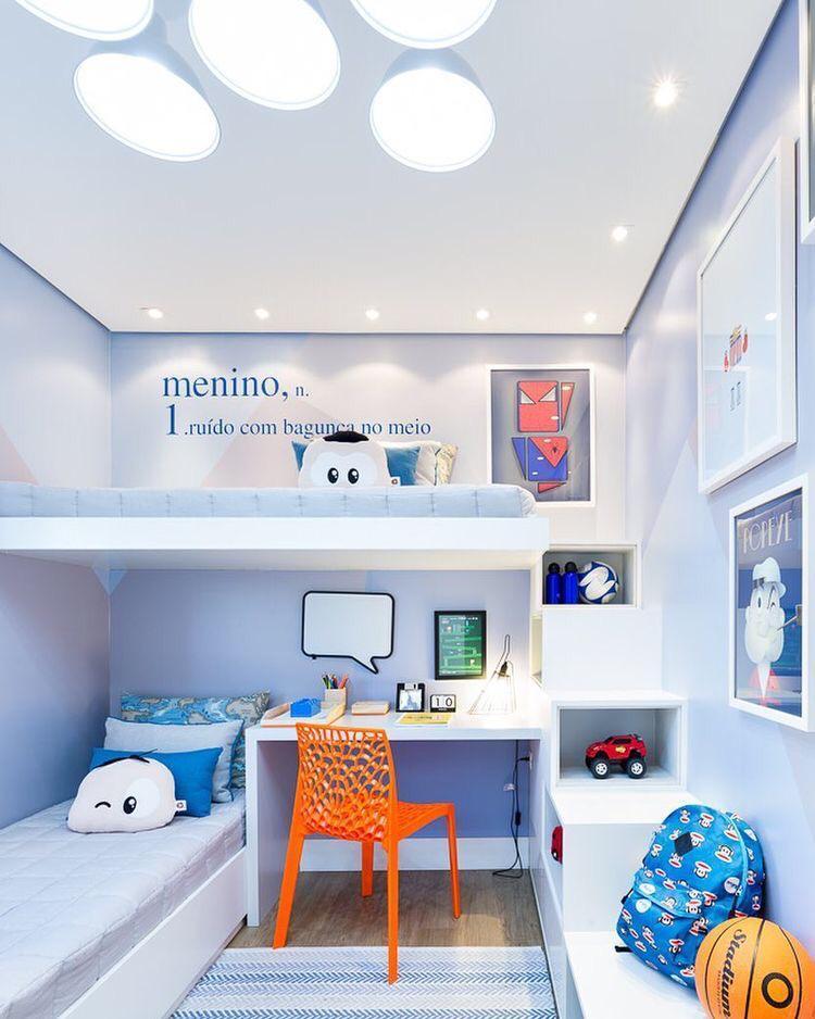 decoração para quartos pequenos para crianças