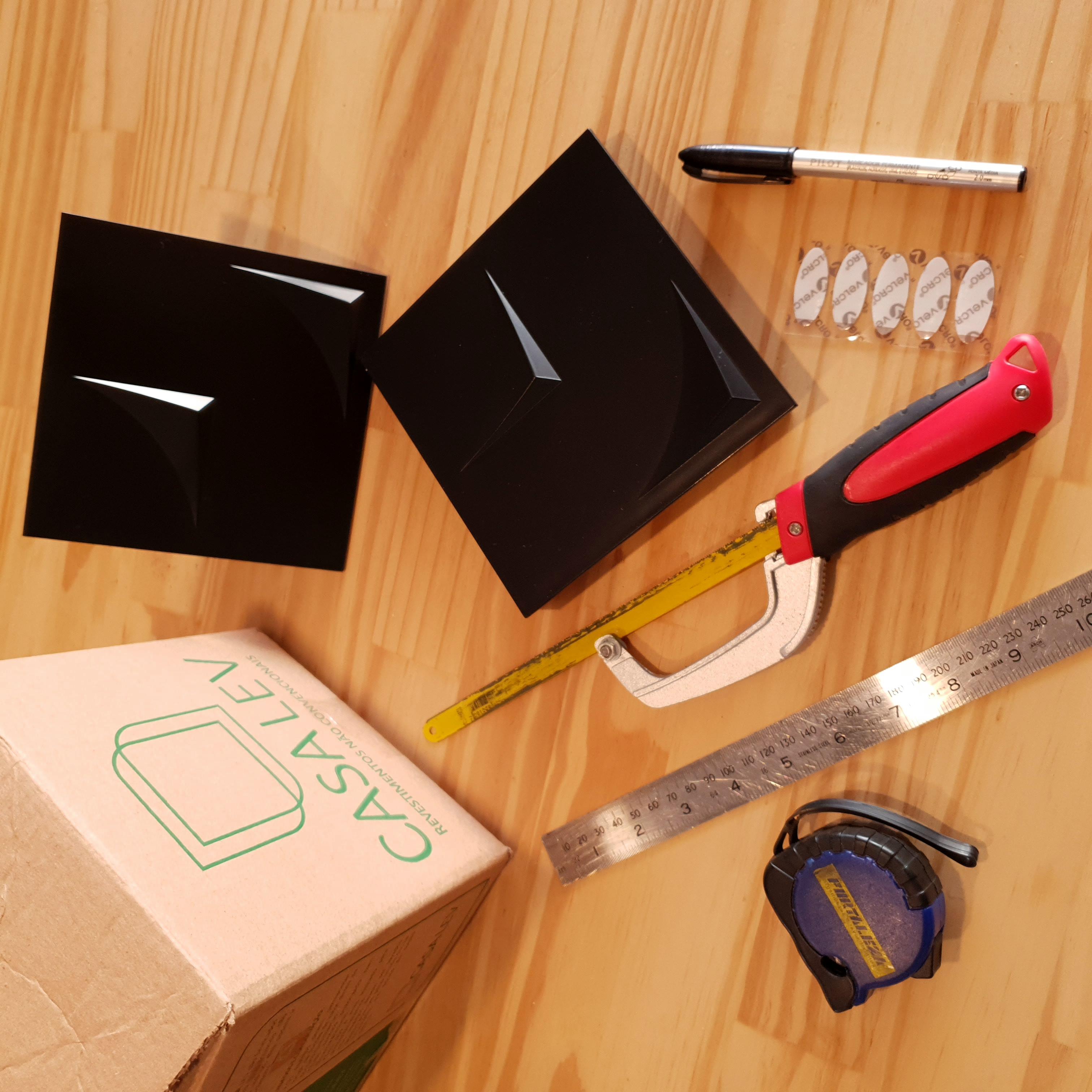 Materiais necessários para a instalação dos revestimentos