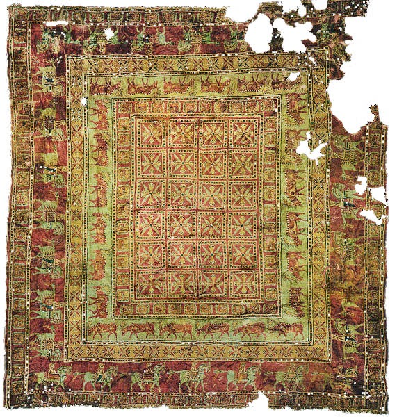 Pazyryk, tapete mais antigo da humanidade