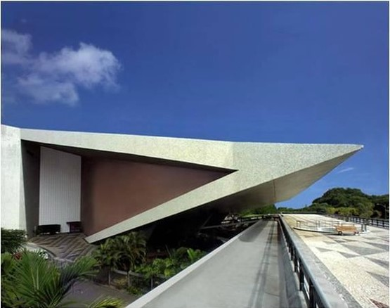 Teatro Castro Alves – Fachada lateral